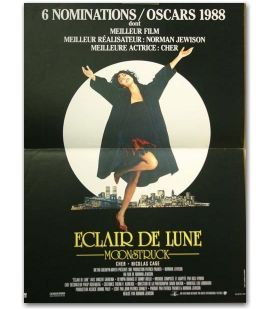 "Moonstruck - 16"" x 21"" - Original French Movie Poster"