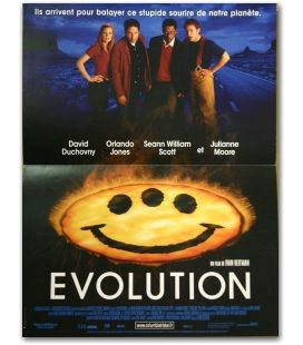 "Evolution - 16"" x 21"" - Original French Movie Poster"