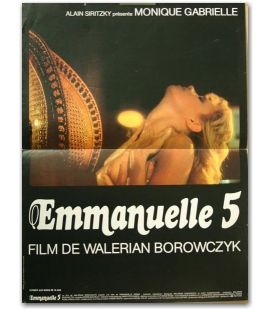 "Emmanuelle 5 - 16"" x 21"" - Small Original French Poster"