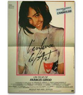 """L'Enfance de l'art - 16"""" x 21"""" - Petite affiche originale française"""