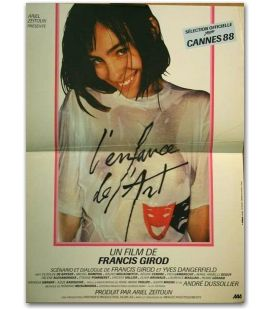 "L'Enfance de l'art - 16"" x 21"" - Small Original French Movie Poster"