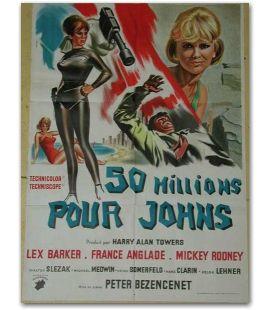 """50 millions pour Johns - 23"""" x 32"""""""