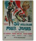 """50 millions pour Johns - 22"""" x 32"""" - Affiche française"""