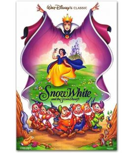 "Snow White and the Seven Dwarfs - 23"" x 35"" - US Poster"