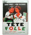 """Tête folle - 23"""" x 32"""" - Original French Poster"""