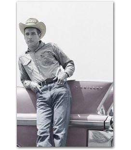 """Paul Newman - 24"""" x 36"""" - Affiche """"Cadillac"""""""