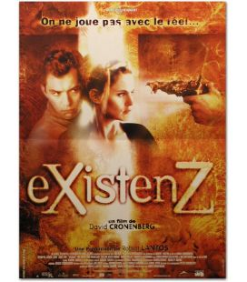 "Existenz - 16"" x 21"" - Original French Movie Poster"