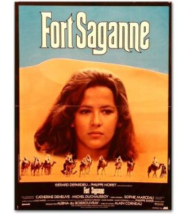"Fort Saganne - 16"" x 21"" - Vintage Original French Movie Poster"