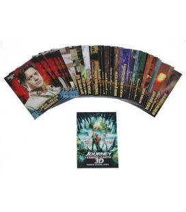 Journey to the Center of the Earth 3D - Trading Cards - Set