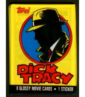 Dick Tracy - Carte de collection - Paquet