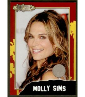 Molly Sims - Carte de collection - Costume (gris)
