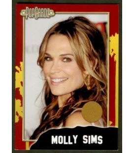 Molly Sims - Carte de collection - Costume (brun)