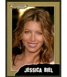 Jessica Biel - PopCardz - Carte spéciale