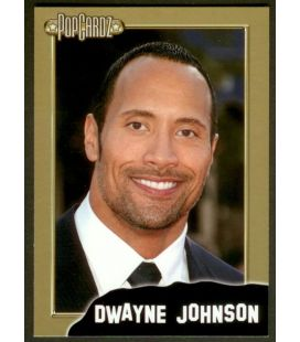 Dwayne Johnson - PopCardz - Carte spéciale