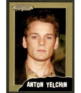 Anton Yelchin - PopCardz - Chase Card