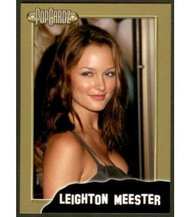 Leighton Meester - PopCardz - Carte spéciale