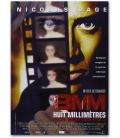 "Eight Millimeter - 16"" x 21"" - Original French Movie Poster"