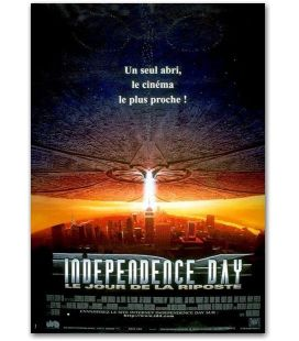 "Independence Day - 16"" x 21"" - Original French Movie Poster"
