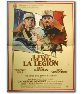 """Il était une fois la légion - 16"""" x 21"""" - Ancienne affiche originale française"""