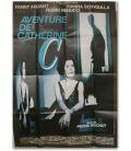 "Aventure de Catherine C - 47"" x 63"" - French Poster"