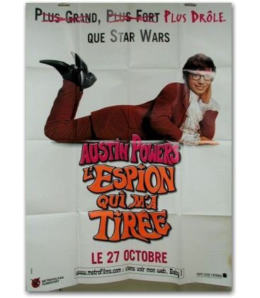 "Austin Powers l'espion qui ma tirée - 47"" x 63"""