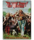 """Asterix and Obelix Take on Caesar - 47"""" x 63"""" - Advance French Poster Gaulois"""