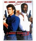 "Lethal Weapon 3 - 47"" x 63"" - Large Original French Movie Poster"
