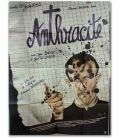 "Anthracite - 47"" x 63"" - French Poster"