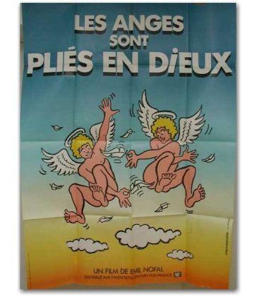 """Les Anges sont pliés en dieux - 47"""" x 63"""""""