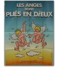 """Les Anges sont pliés en dieux - 47"""" x 63"""" - Affiche française"""