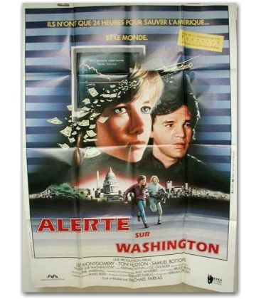 "Alerte sur Washington - 47"" x 63"""