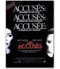 """The Accused - 47"""" x 63"""" - French Poster"""