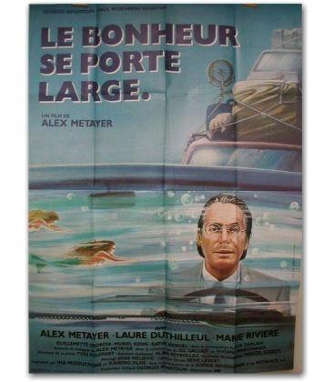 """Le Bonheur se porte large - 47"""" x 63"""""""
