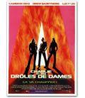 """Charlie et ses drôles de dames - 47"""" x 63"""" - Affiche française"""