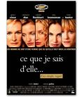 "Things You Can Tell Just by Looking at Her - 47"" x 63"" - French Poster"