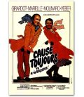 """Cause toujours, tu m'intéresses - 47"""" x 63"""" - French Poster"""