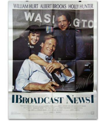 """Broadcast News - 47"""" x 63"""""""