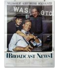 """Broadcast News - 47"""" x 63"""" - French Poster"""