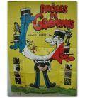 """Droles de gendarmes - 47"""" x 63"""" - French Poster"""