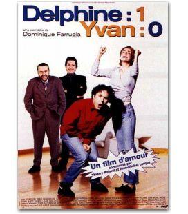 """Delphine 1, Yvan 0 - 47"""" x 63"""""""