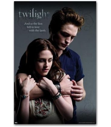 "Twilight - Edward and Bella - 24"" x 36"""
