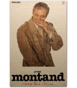"""Yves Montant - 16"""" x 23"""""""