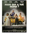 """Mais qui a tué Mona ? - 16"""" x 21"""" - Affiche originale française"""