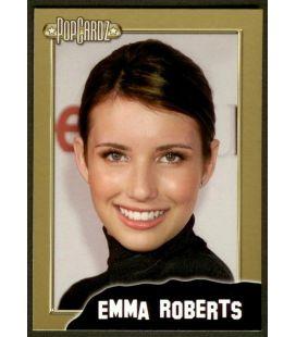 Emma Roberts - PopCardz - Carte spéciale