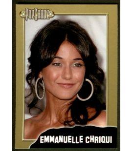 Emmanuelle Chriqui - PopCardz - Carte spéciale