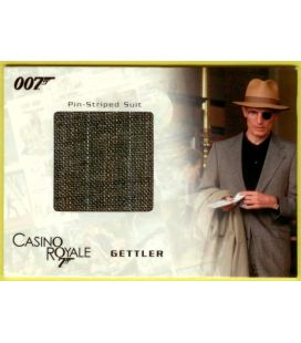 James Bond - Cartes de collection - Carte Costume