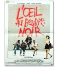 "L'Oeil au beurre noir - 16"" x 21"" - Original French Movie Poster"