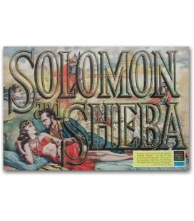 Solomon and Sheba - Vintage Advertisement