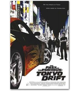 """The Fast and the Furious: Tokyo Drift - 11"""" x 17"""""""