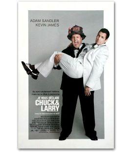 """Je vous déclare Chuck et Larry - 11"""" x 17"""""""